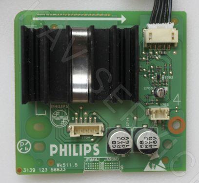 Купить в Барнауле:Плата звуковой усилитель для ЖК телевизора Philips (3139 123 58833)