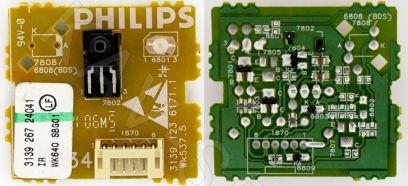Купить в Барнауле:Плата ИК сенсор для ЖК телевизора Philips (3139 123 6171.1 Wk537.5)