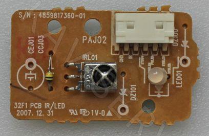 Купить в Барнауле:Плата ИК сенсор для ЖК телевизора (32F1 PCB IR/LED)