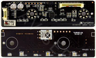 Купить в Барнауле:Плата ИК сенсор для ЖК телевизора LG (37/42/47 LD420 Ver1.0)