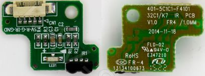 Купить в Барнауле:Плата ИК сенсор для ЖК телевизора Supra (401-5C1C1-F4101)