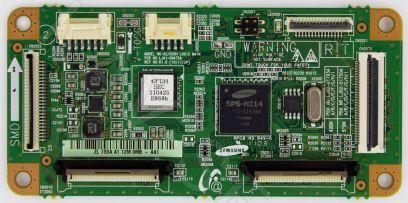 Купить в Барнауле: 42/50DH LOGIC MAIN, LJ41-09475A, S42AX-YB11 - Плата T-con плазменного телевизора Samsung