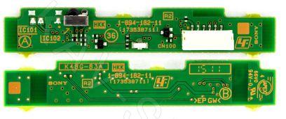 1-894-182-11, 173538711 - Плата ИК сенсор для ЖК телевизора Sony