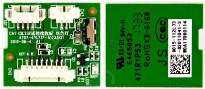 Купить в Барнауле: 4707-43L73F-A1233K11 - плата ИК сенсор для ЖК телевизора