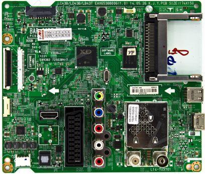 Купить в Барнауле: EAX65388006(1.0), EBU62356102 - Плата управления ЖК телевизора LG